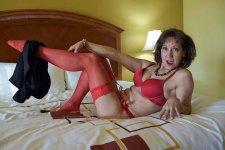 Mrs satisfied pantyhose